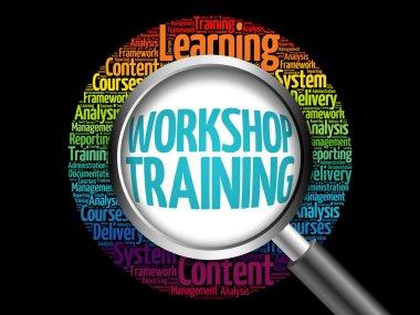 Workshop Training word cloud