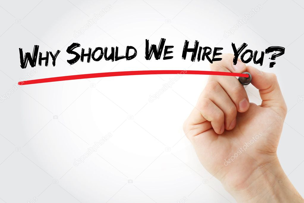 hand writing why should we hire you stock photo dizanna 126613072