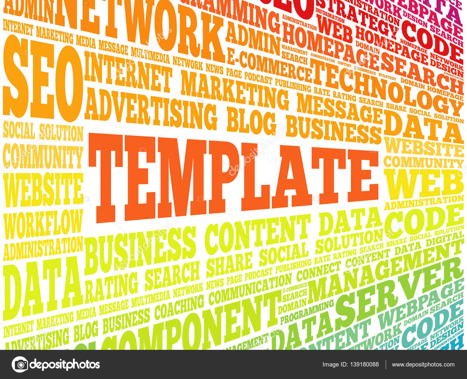 Template word cloud stock vector dizanna 139180088 template word cloud stock vector maxwellsz