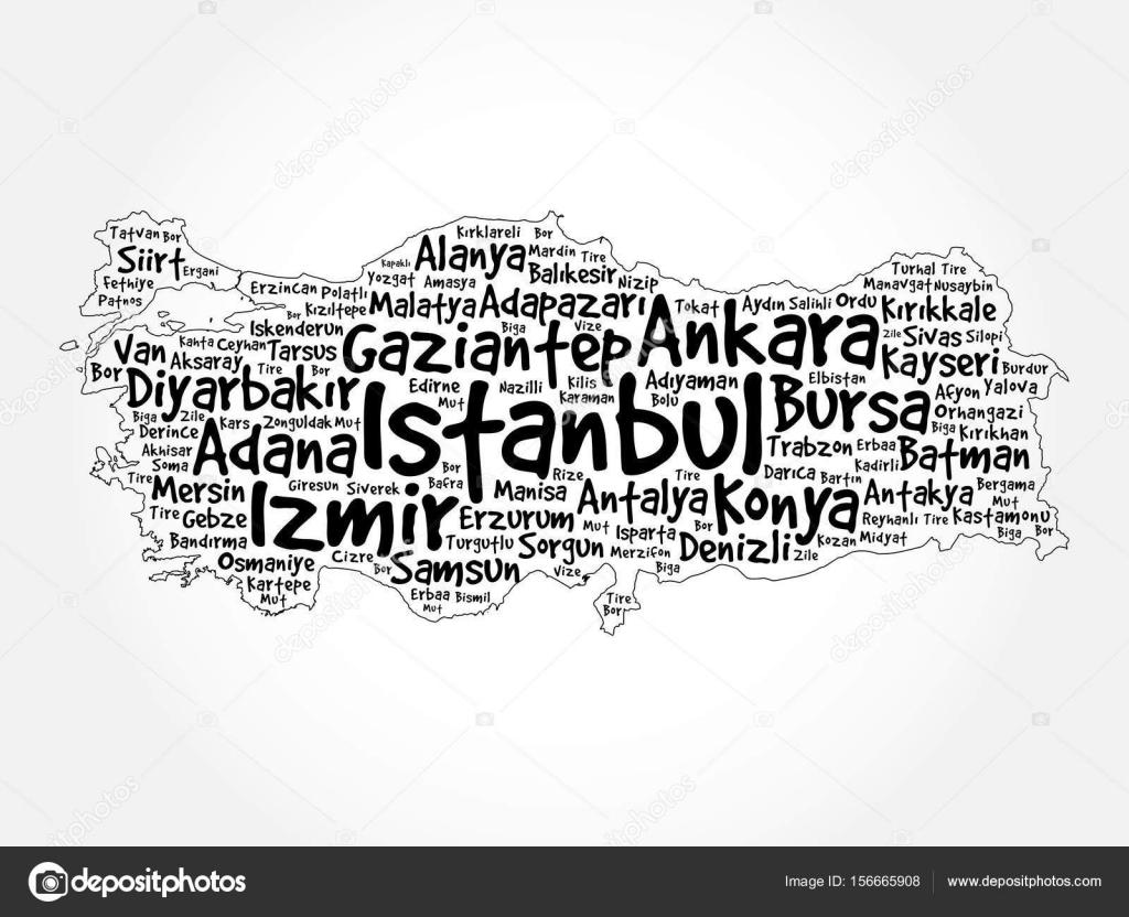 トルコの都市の一覧
