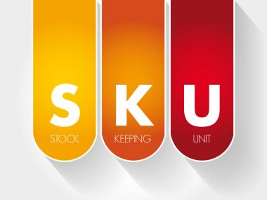 SKU - Stock Keeping Unit acronym
