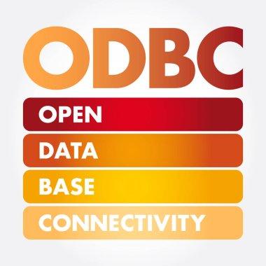 ODBC - Open Database Connectivity acronym