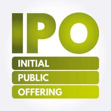 IPO - Initial Public Offering acronym