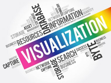 Visualization word cloud, business concept