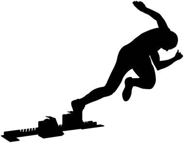 start athlete sprinter