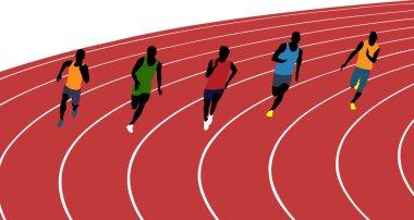 man athletes runners