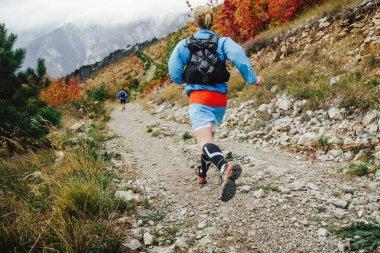 female athlete runner running