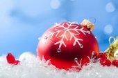 Vánoční dovolená míč