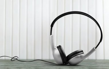 modern  headphones object