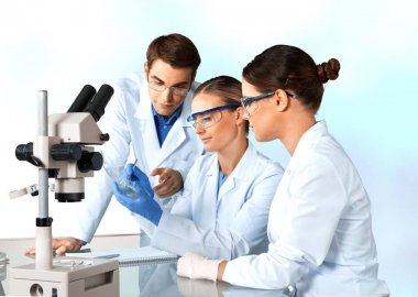 doctors team talking expertise