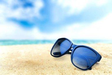 Black fashion sunglasses
