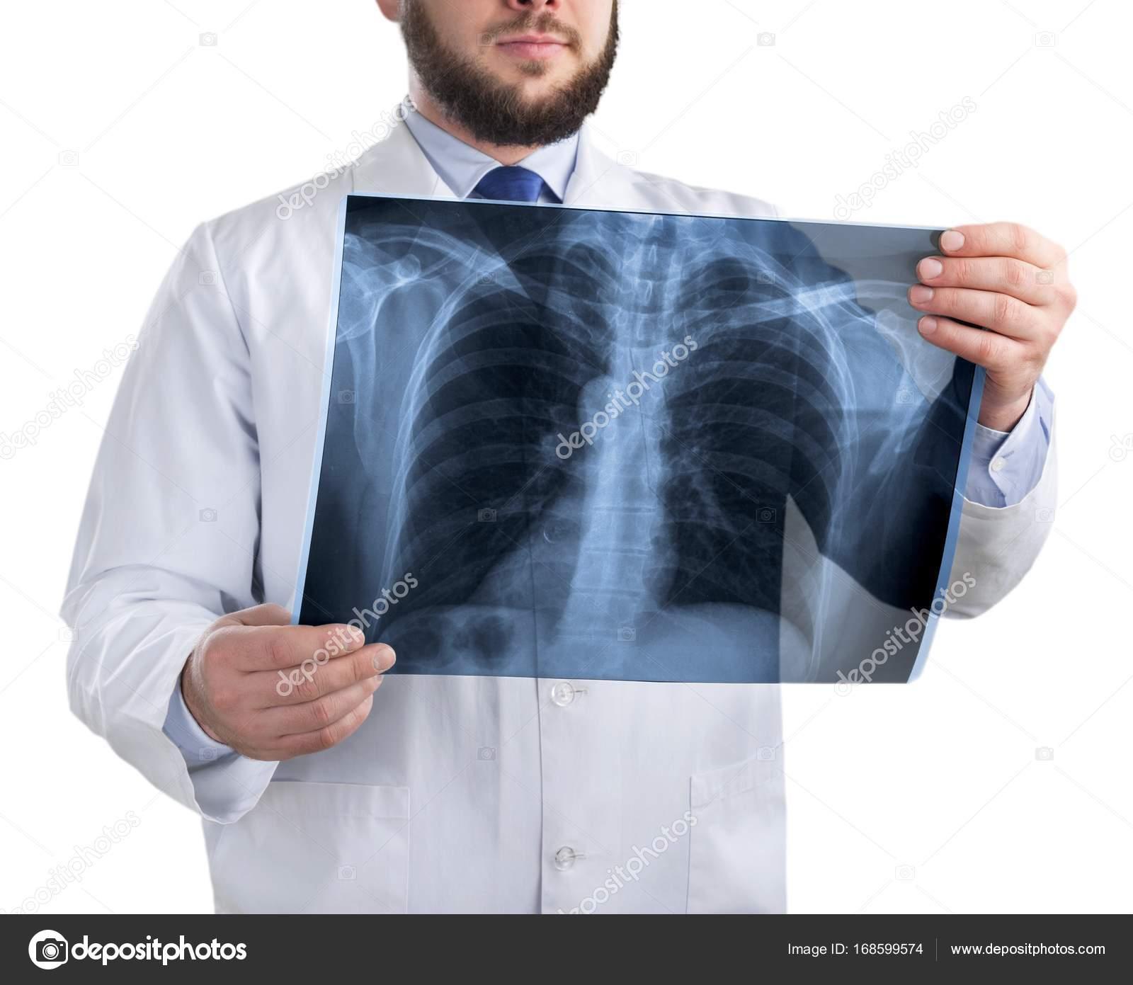 Arzt Untersuchung Röntgen — Stockfoto © billiondigital #168599574