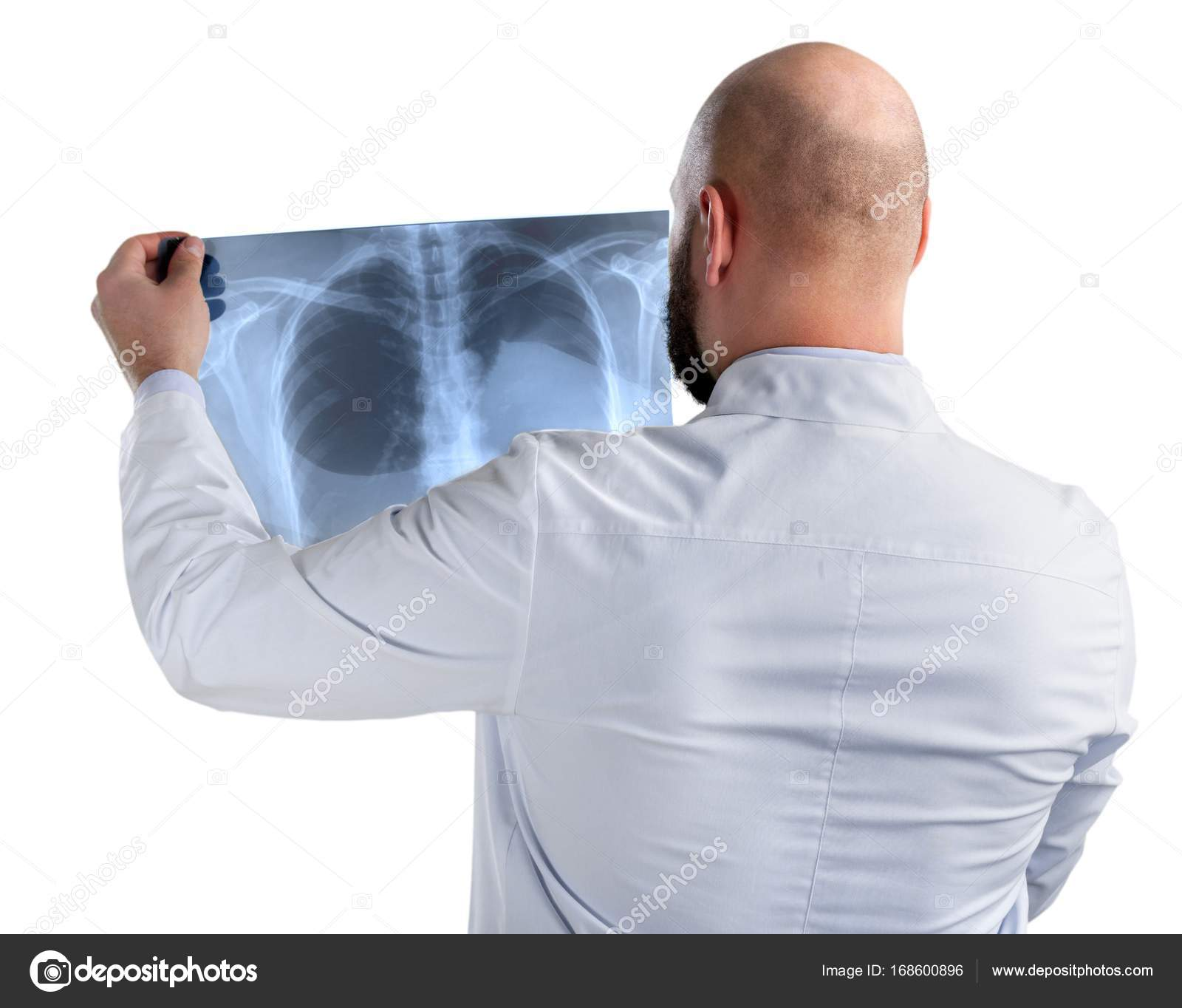 Arzt Untersuchung Röntgen — Stockfoto © billiondigital #168600896