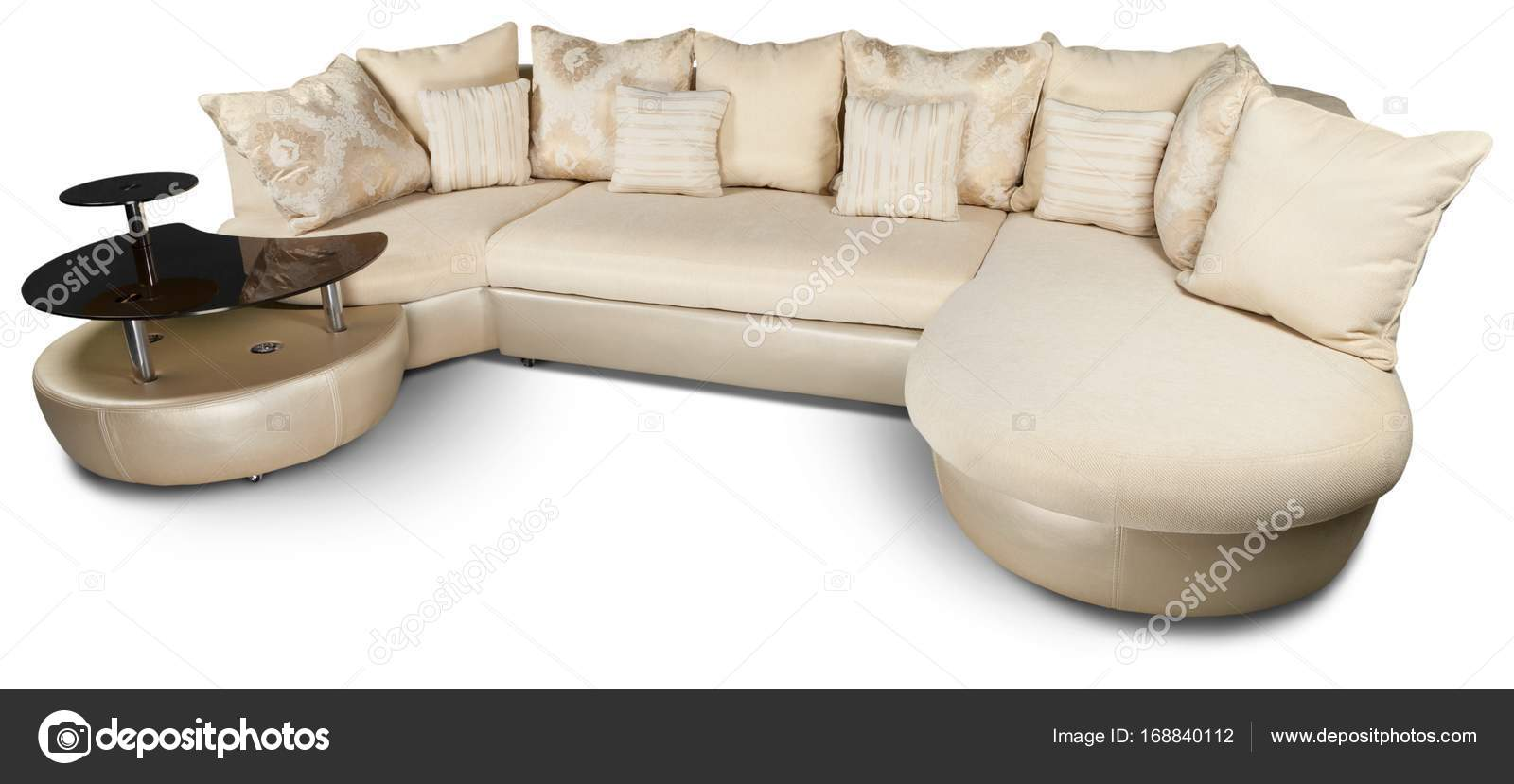 Incredible Nice Luxury Leather Sofa Isolated White Background Stock Pdpeps Interior Chair Design Pdpepsorg