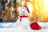 aranyos hóember