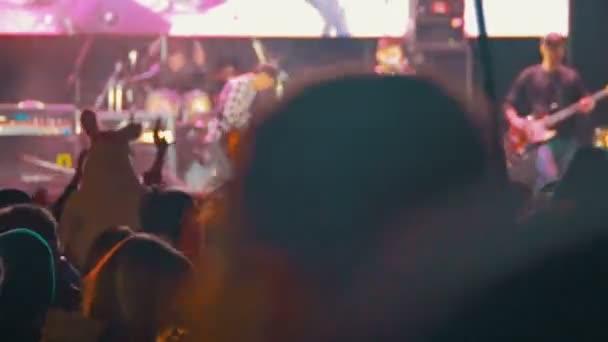Crowd on Rock Concert