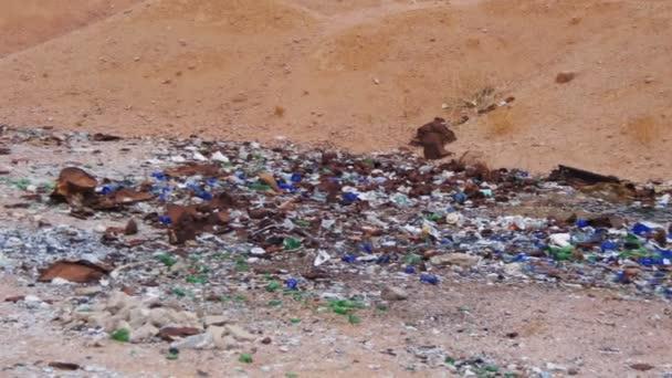 Debris in the Desert of Egypt
