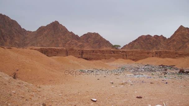 The Dump Waste in the Desert of Egypt