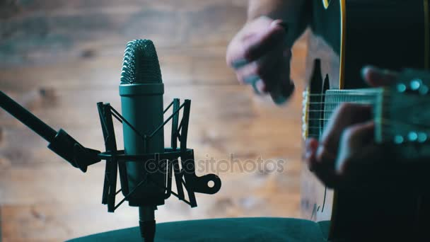 Recording Acoustic Guitar In The Studio