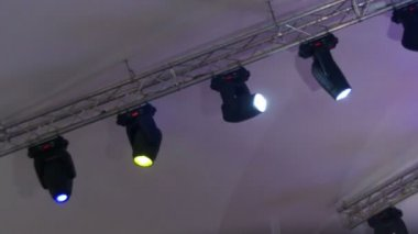 The red light at the concert the light on the stage stage light professional lighting equipment for the concert the light on the stage lighting devices mozeypictures Image collections