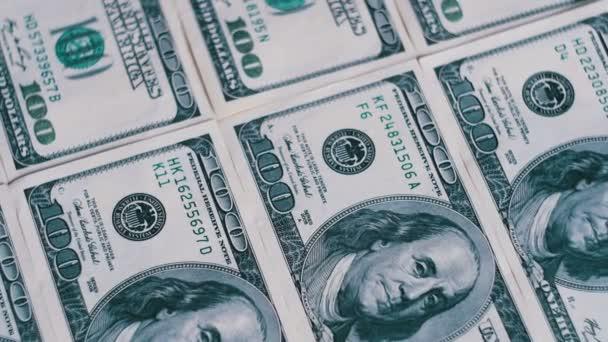Dollar, American Banknotes Rotate