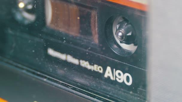 Vintage audio pásku