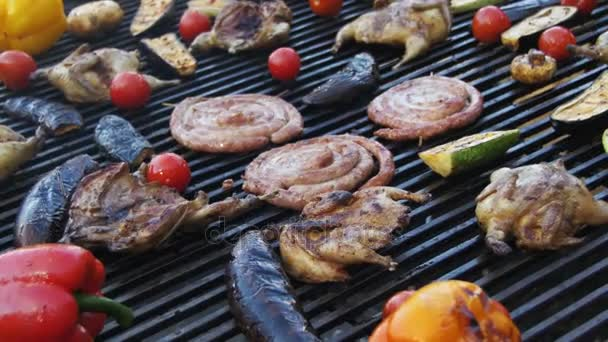 Főzés ízletes Barbecue és Grill zöldségekkel