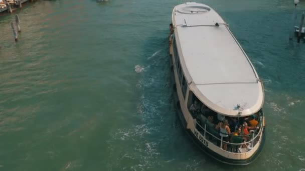 Venice Italy Grand Canal Transport Routes, view from the Bridge