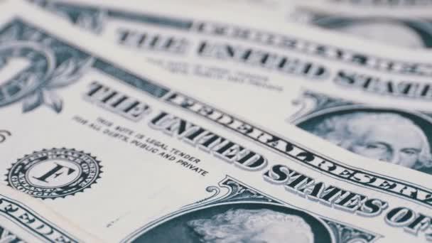 Dolarů, americký bankovky hodnotě jednoho dolaru je otočit