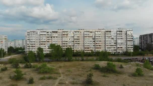 Rezidenční SSSR Multistory Building at a Sleeping Area of City, Letecký pohled