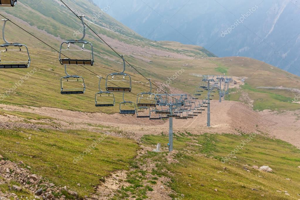 The cableway to Medeu