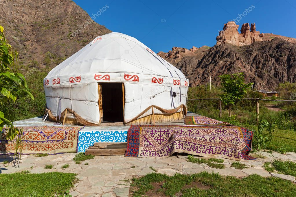 Yurt is the national dwelling of nomads