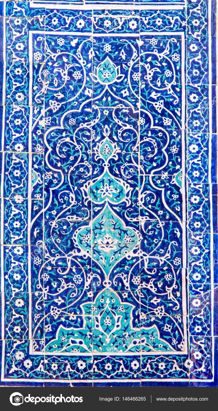 Arabische Und Islamische Stil Moschee Mosaik Und Muster U2014 Foto Von Dymeet