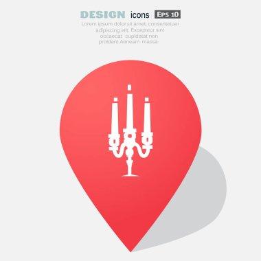 Candlestick web icon