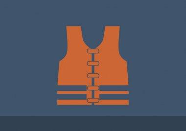 Vest, web icon.