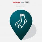 Ikona webové ponožky