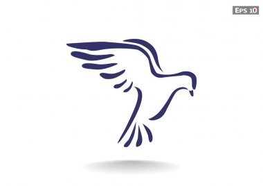 dove, web icon
