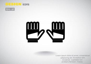 goalkeeper gloves icon