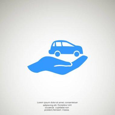 Car Insurance web icon