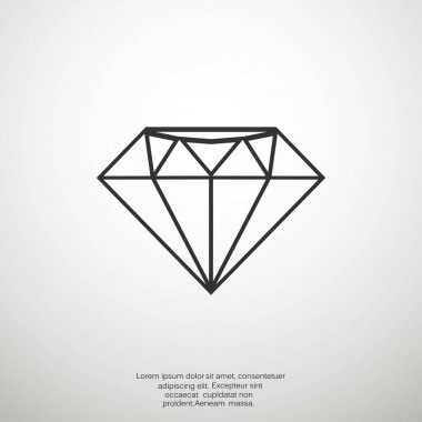Diamond web icon