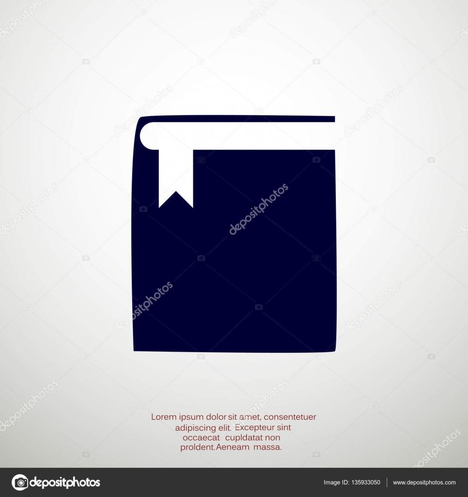 Geschlossenes Buch Web-Symbol — Stockvektor © LovArt #135933050