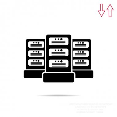 Data servers web icon