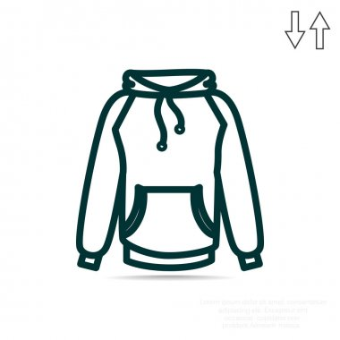 clothes  simple icon