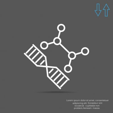 DNA web icon