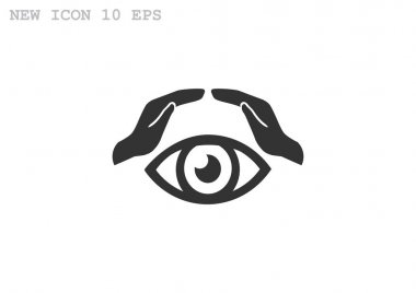 vision and insurance icon