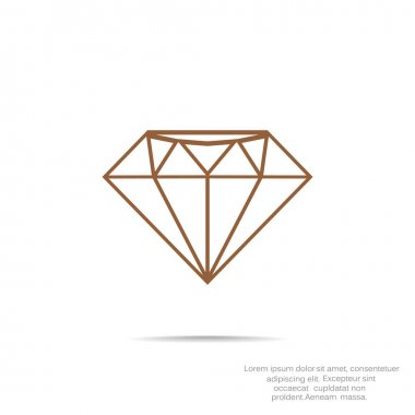 Diamond web icon