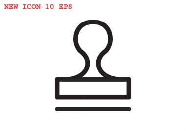 Stamp web icon