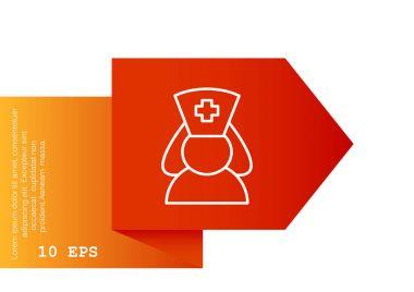Nurse simple icon