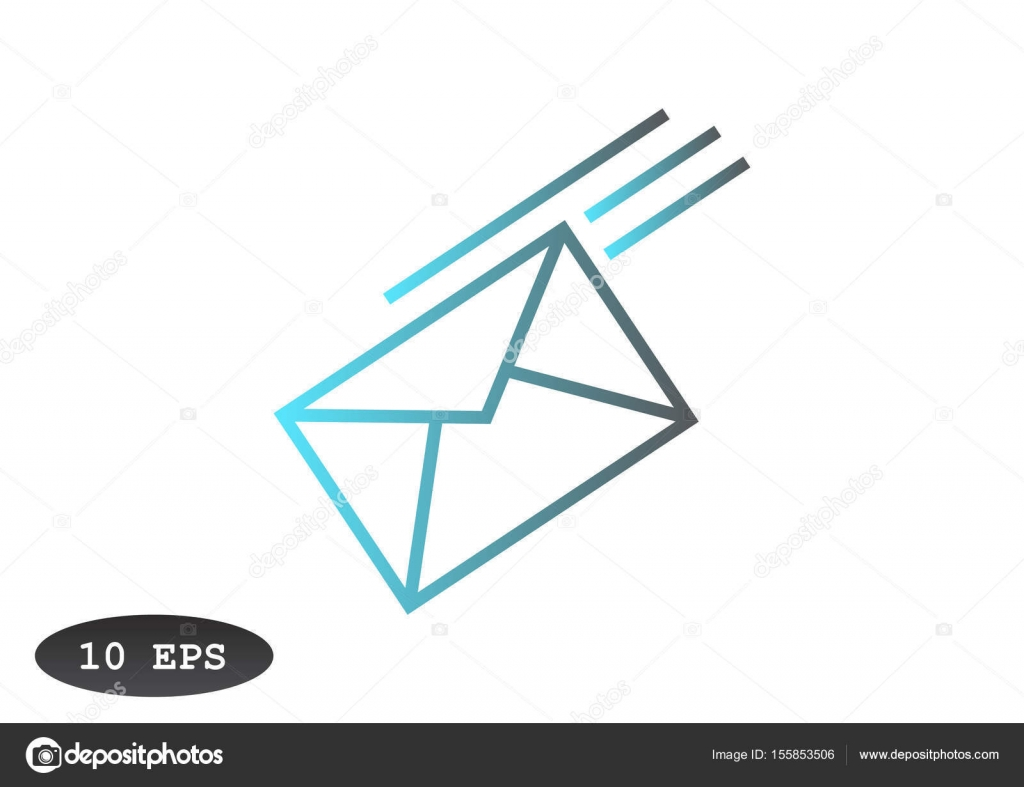 mail letter icon — stock vector © lovart #155853506