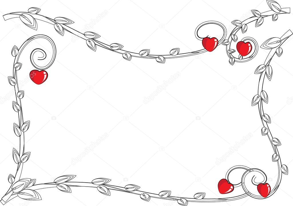 schöne Zeichnung Rahmen — Stockfoto © wenpei #126220464